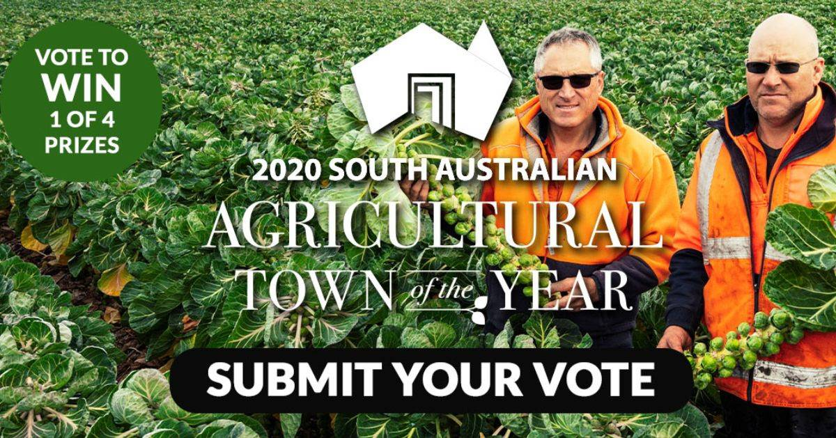 PROMOTE: Public votes are encouraged to help highlight the state's agricultural town of the year in 2020. Photo: PIRSA
